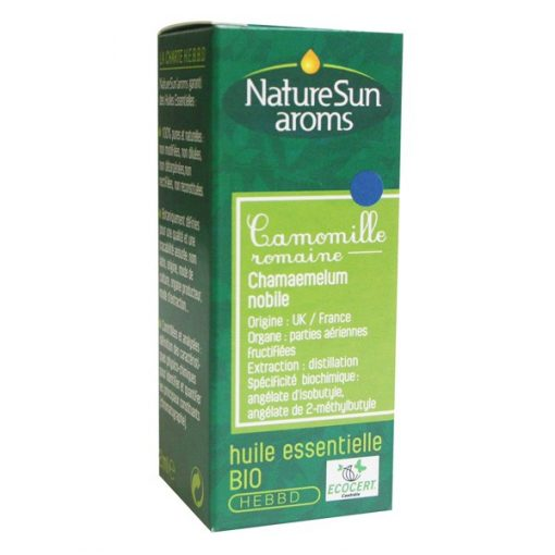 Camomille Noble ou Romaine HE bio - 2 ml - NatureSunAroms 1