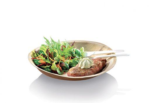 Assiette Ronde Palmier -18cm - Crokus 1