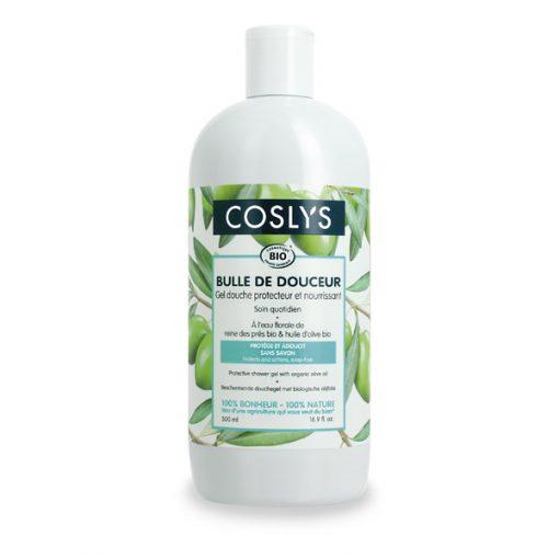 Gel Douche Protecteur Olive Bio/ Reine de prés - 500ml - Coslys 1