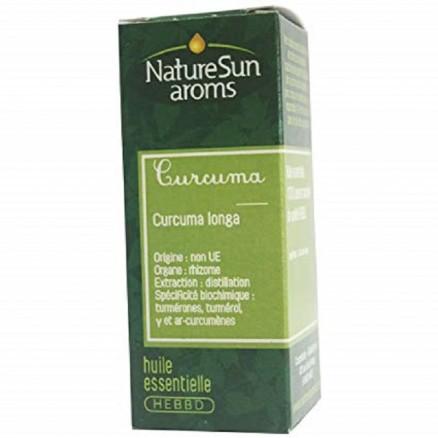 Curcuma - 10 ml - Huile essentielle - NatureSunAroms 1