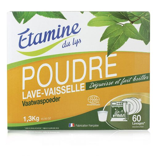 Poudre Lave–Vaisselle - 1.3kg - Etamine du Lys 1