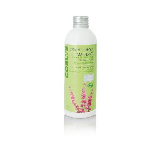 Lotion Tonique Matifiante Peaux à Tendance Grasse Bio - 200ml - Coslys 1