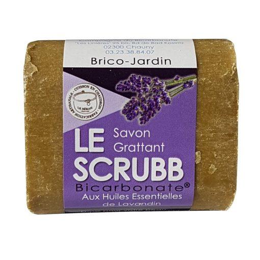 """Le Scrubb"" Savon Cuisine-Brico-Jardin Huile Essentielle Lavandin - Cie Bicarbonate 1"