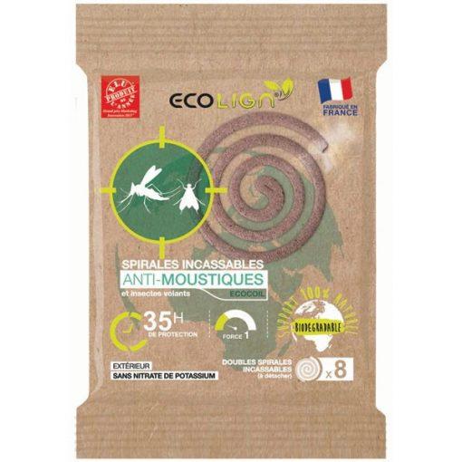 5 Spirales Anti-Moustiques - Ecolign 1