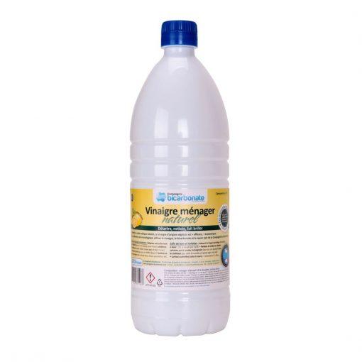 Vinaigre Blanc 12° Arôme Citron - 1l - Cie Bicarbonate 1