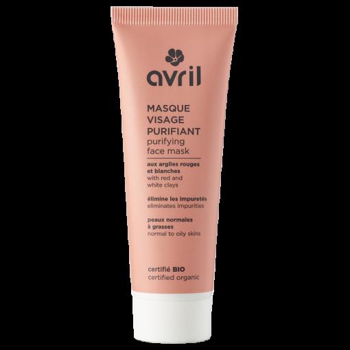 Masque Visage Purifiant Bio - 50ml - Avril 1