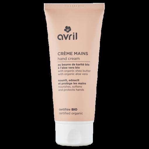 Crème pour les Mains Bio - 100ml - Avril 1