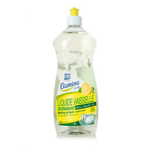 Liquide Vaisselle Citron Menthe - 1l - Etamine du Lys 1