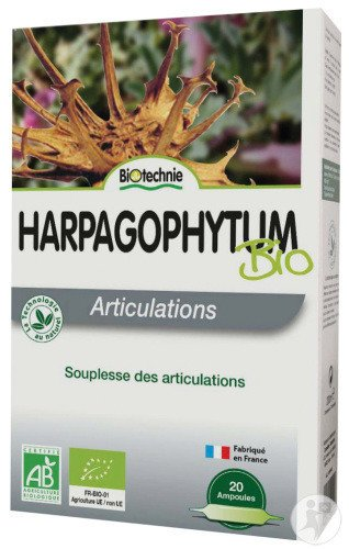 Harpagophytum AB 20 ampoules - Biotechnie 1