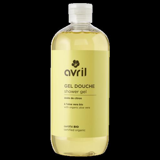 Gel Douche Zeste de Citron Bio - 500ml - Avril 1