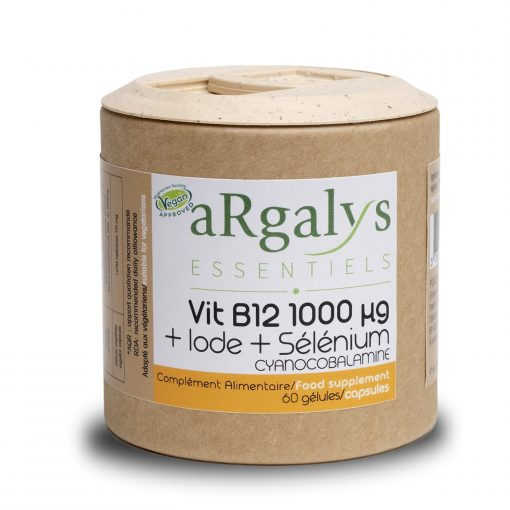 Argalys Essentiels B12 + Iode et Sélénium 1