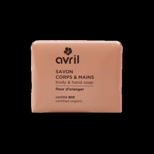 Savon Corps & Mains Fleur d'Oranger Bio - Avril 1