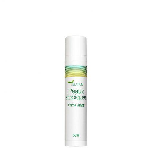 Crème Visage Peaux Atopiques - 50ml - Elatium - Zematopic - Altheys 1