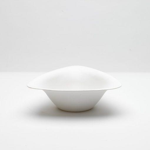 50 Bols blancs en canne à sucre gamme Trigon - 600 ml - Crokus 1