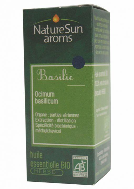 BASILIC - Ocimum basilicum - 10 ml - NatureSunAroms 1