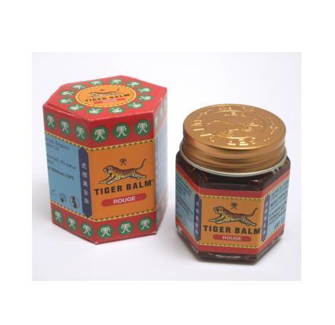 Tiger Balm chauffant pot rouge 11 % camphre - 30 g - Tiger Balm 1