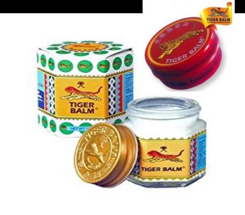 Tiger Balm effet froid pot blanc 11% camphre -30+4 grammes - Tiger Balm 1