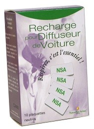 Plaquettes neutres - Recharges (x10) pour Diffuseur prise/voiture Huile essentielle - NatureSunAroms 1
