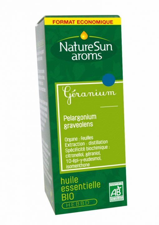 GERANIUM, Pelargonium graveolens - 30 ml - NatureSunAroms 1