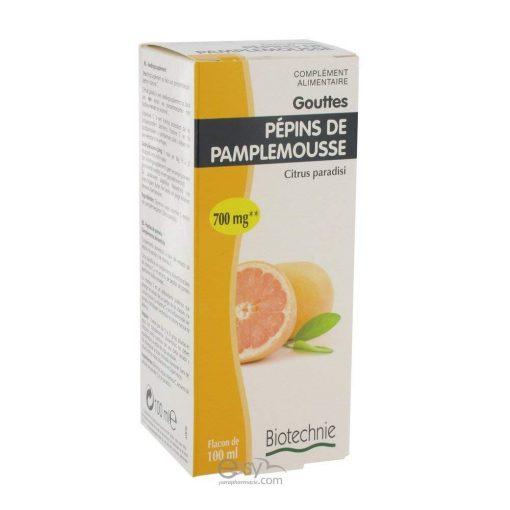 Biotechnie - Extrait de pépin de pamplemousse - 100 ml flacon - Biotechnie 1