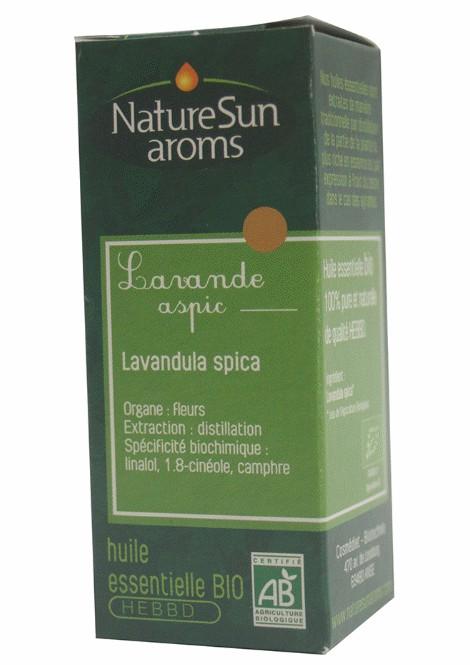 LAVANDE ASPIC - Lavandula spica - 10 ml - NatureSunAroms 1