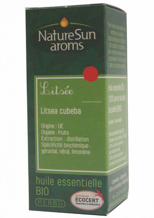 DLUO 2017 - LITSEE ou Verveine exotique - Litsea cubeba - 10 ml - NatureSunAroms 1