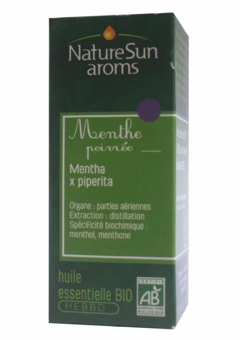 MENTHE POIVREE - Mentha x piperita - 10 ml - NatureSunAroms 1