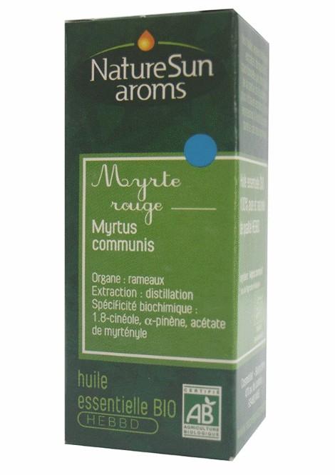 MIRTE ROUGE - Myrtus communis - 5 ml - NatureSunAroms 1