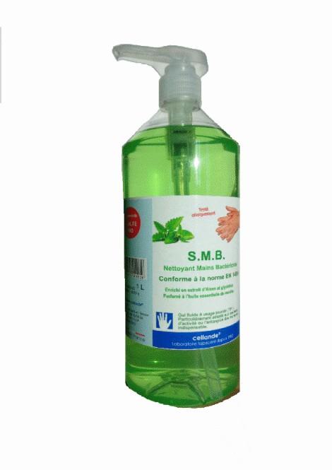 Nettoyant Mains Bactéricide Ecologique - 1L - Cellande 1