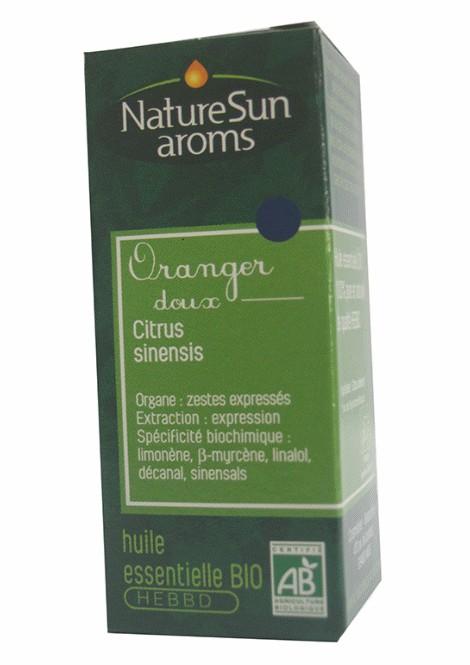 DLUO 2019 - ORANGER DOUX - Citrus sinensis -10 ml - NatureSunAroms 1