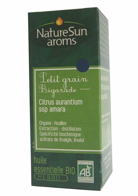 PETIT GRAIN BIGARADE (feuilles) - Citrus aurantium ssp amara - 10 ml - NatureSunAroms 1