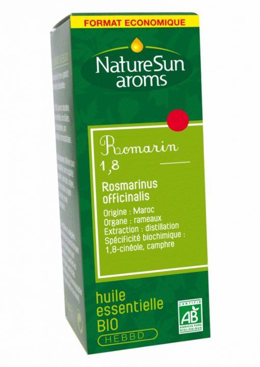 ROMARIN 1,8 - Rosmarinus officinalis - 30 ml - NatureSunAroms 1