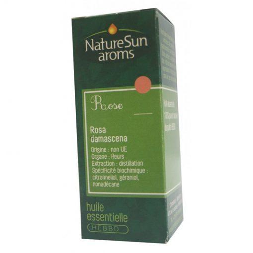 Rose de Damas - huile essentielle bio - Rosa damascena - 1ml - NatureSunAroms 1