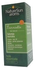 DLUO 2019 - Sarriette vivace - huile essentielle bio - 10 ml - NatureSunAroms 1