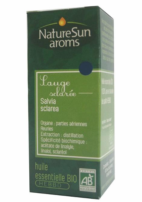 SAUGE SCLAREE - Salvia sclarea - 10 ml - NatureSunAroms 1