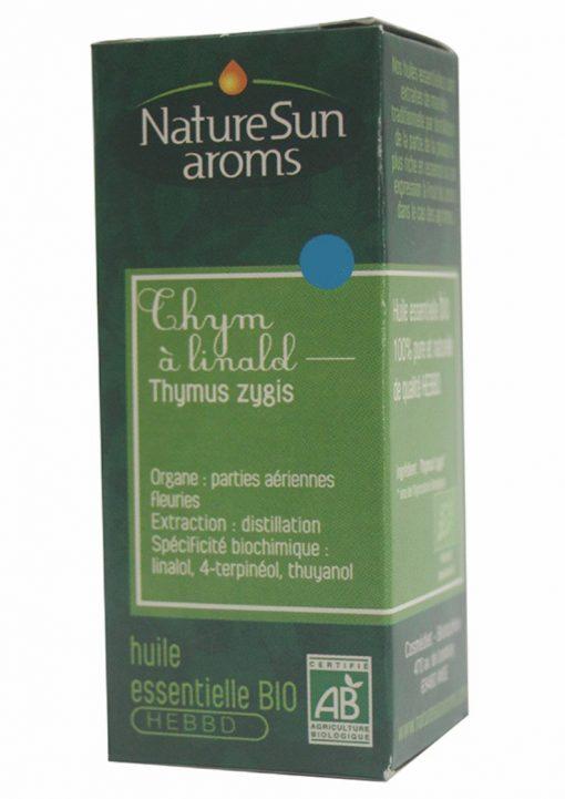 THYM LINALOL - Thymus zygis - 10 ml - NatureSunAroms 1