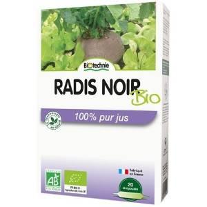 Radis Noir Bio 20 ampoules - Biotechnie 1