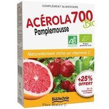 Acérola 700 Pamplemousse - 30 comprimés- 1