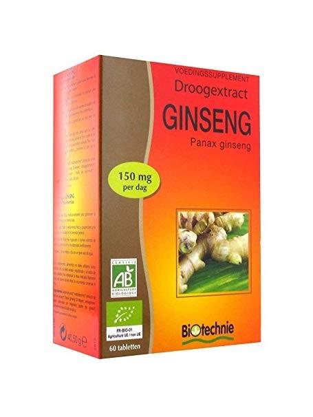 Biotechnie Extrait Sec de Ginseng 60 Comprimés - Biotechnie 1