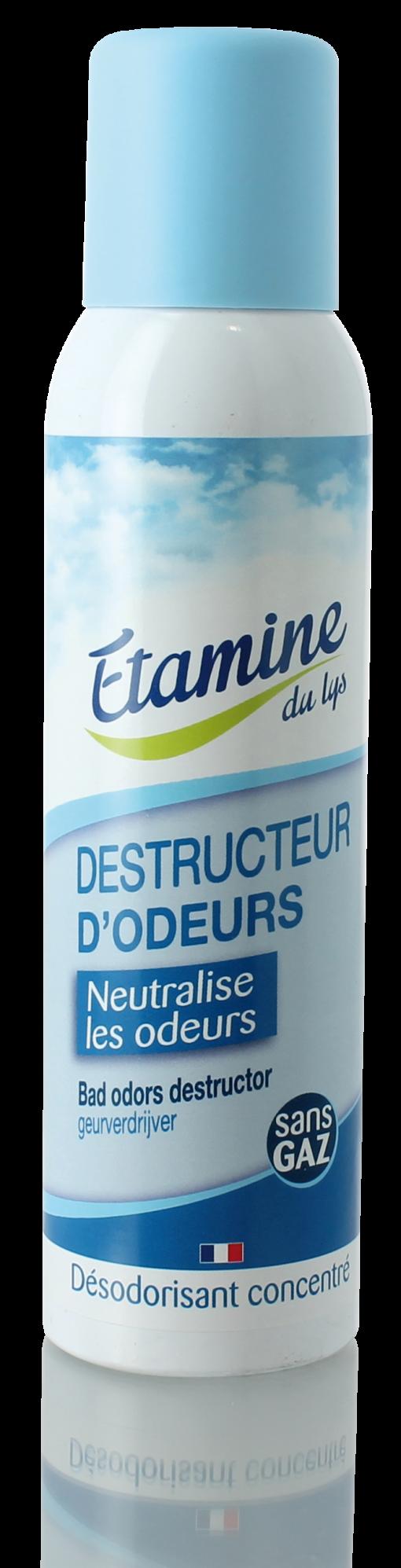 DESODORISANT DESTRUCTEUR D'ODEURS -125 ml- 1