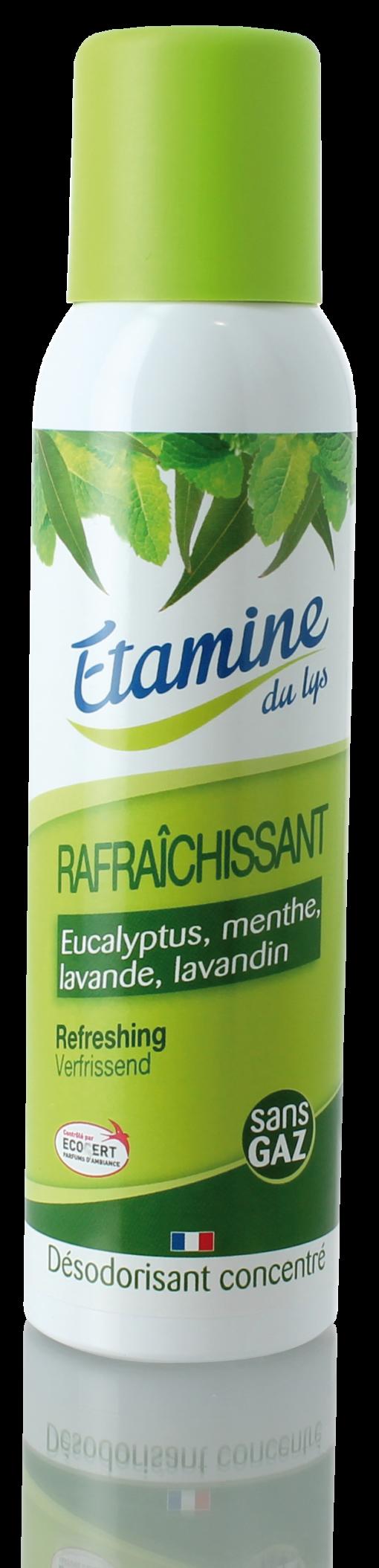 DESODORISANT RAFRAICHISSANT Flacon 125 ml sans gaz – label ecocert 1