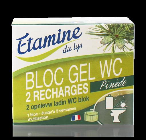 Lot de 2 recharges -50ml- BLOC GEL WC 1