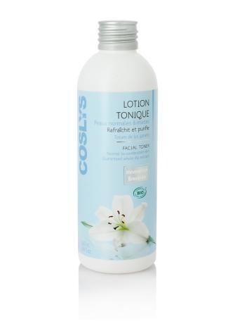 Lotion tonifiante douce - 200 ml - Peaux normales à mixtes. Rafraîchit et purifie. 1