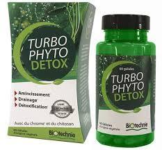 Turbo Phyto Détox - 60 gélules - Biotechnie 1