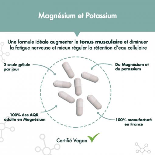Magnésium + Potassium aRgalys 2