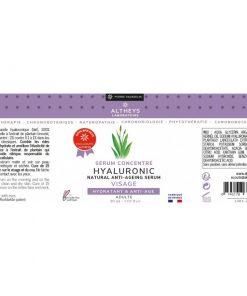 serum concentré acide hyaluronique Altheys