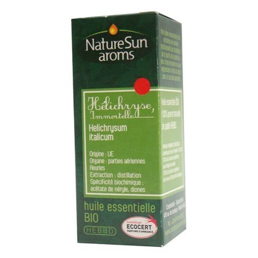 Helichryse / Immortelle - huile essentielle bio -5 ml - NatureSunArom 1