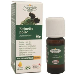 Epinette noire - huile essentielle bio - 10 ml - NaturSunArom 1