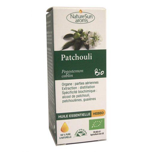 Patchouli - huile essentielle bio - 10 ml - NatureSunArom 1