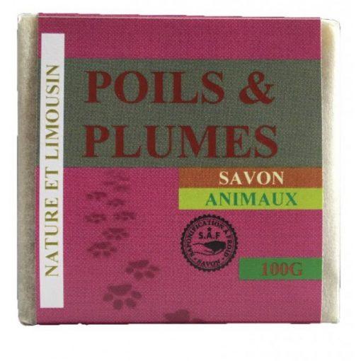 Savon Poils et Plumes pour Animaux - 100g - Nature et Limousin 1